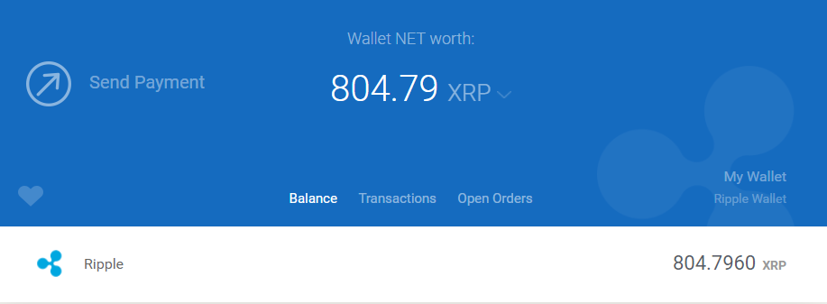 XRP GateHub wallet